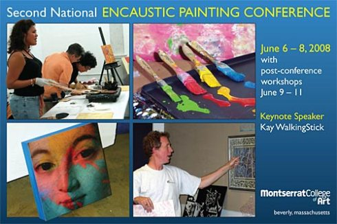 National Encaustic Conference postcard