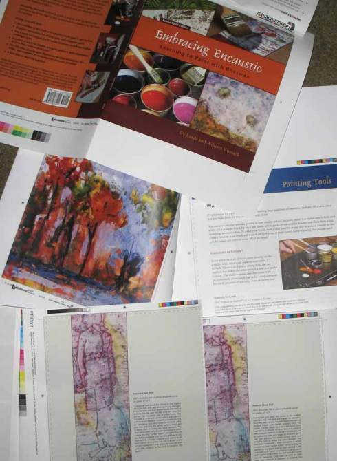 First Proof Pages for Embracing Encaustic