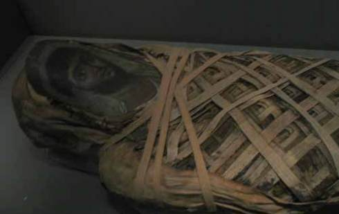 Encaustic mummy