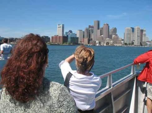 Ferry to Boston