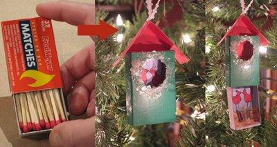 Matchbox Ornaments by Bridget Benton