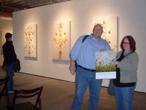 Ted Loomis and Kristin Swenson Lintault joined me at the gallery