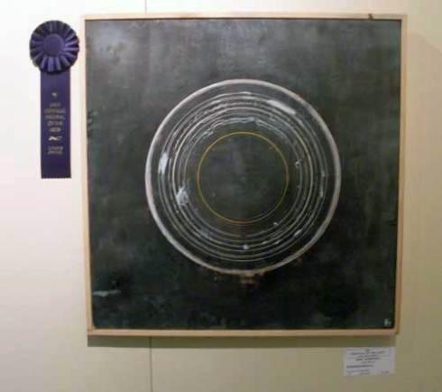 "Juror Award, Dave Laubenthal, Gropious (mandala), 24"" x 24"""