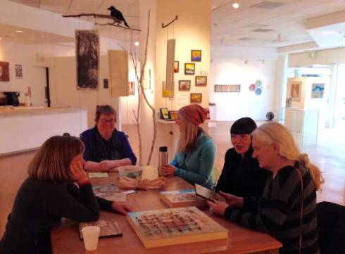 Encaustic Painters Meetup