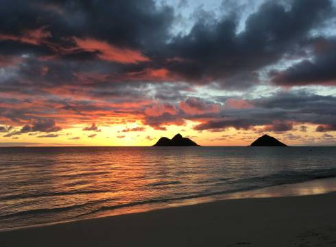 Lanikai-sunrise